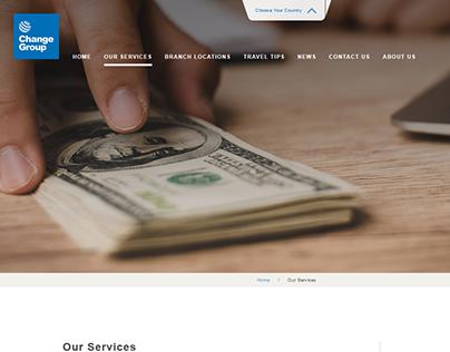 ChangeGroup/ Website copy and digital asset creation