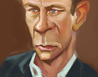Caricature  - Daniel Craig