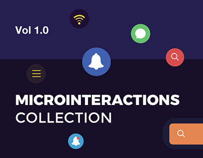 Microinteractions Collection Vol. 1.0
