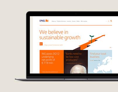 ING.com pitch 2012