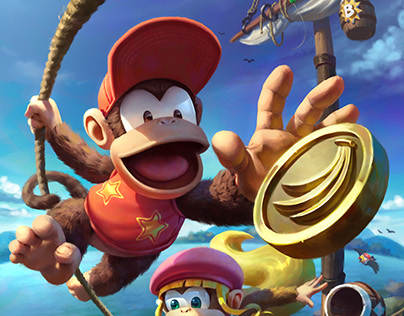 Donkey Kong Country 2 Fan Art 2017