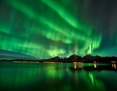 Northern Lights - Jøvik Lyngen Alps 10/2015