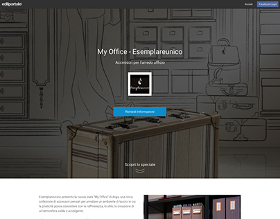 Product deepening, landing page