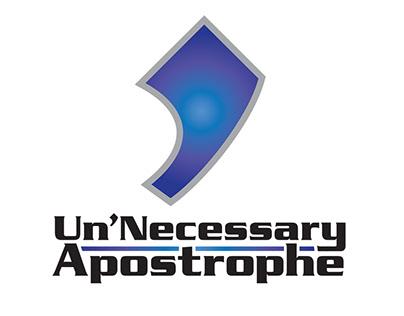 Un'Necessary Apostrophe Logo