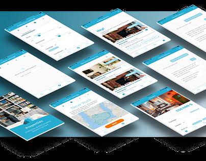 Perfect Properties | Web app concept
