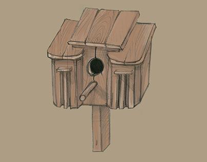 Tarpukario architektūros stiliaus inkilai