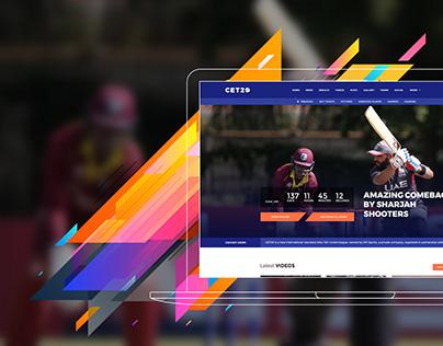 T20 Cricket Website
