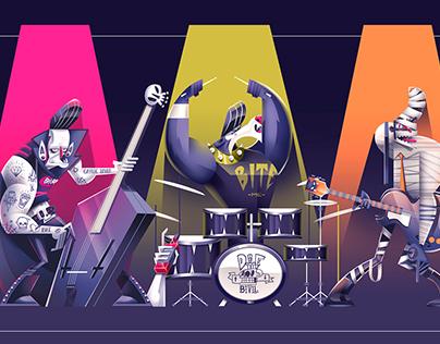 DIE-BILLY (psychobilly monster band)