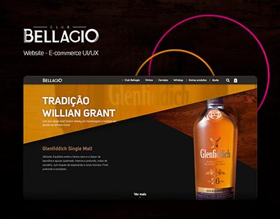 Club Bellagio / Website Design UI/UX