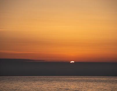 the sun is born in the sea