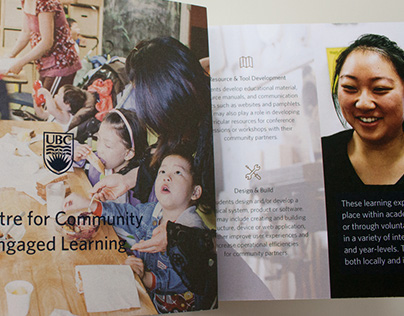 Centre for Community Engaged Learning brochure