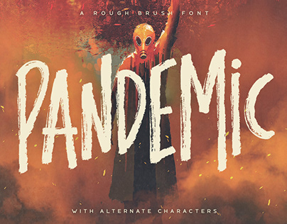 Pandemic - Brush Font