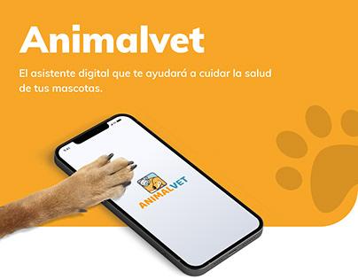 Animalvet, la app para la salud de tu mascota (UX/UI)