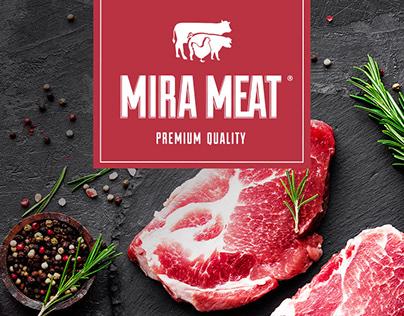 MIRA MEAT - Branding & Website