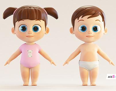 C4D Babies