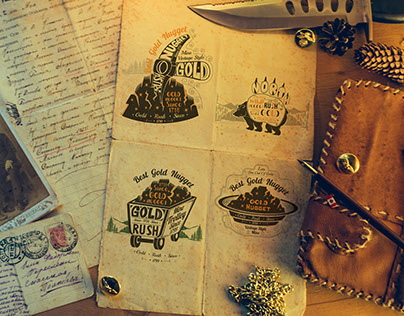 There are four T-Shirt prints for roject Gold Rush