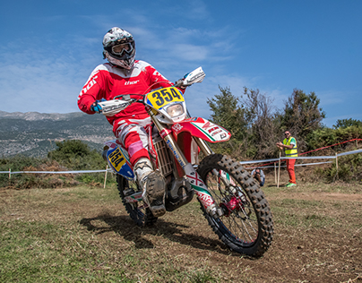 Scramble off-road motorcycle racing ~Ioannina race~