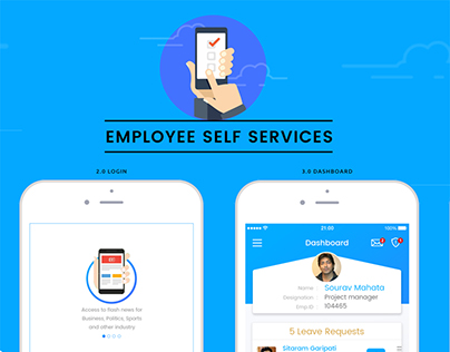 Employee Self Services iPhone app