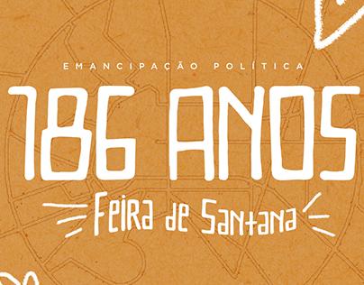 186 anos de Feira de Santana