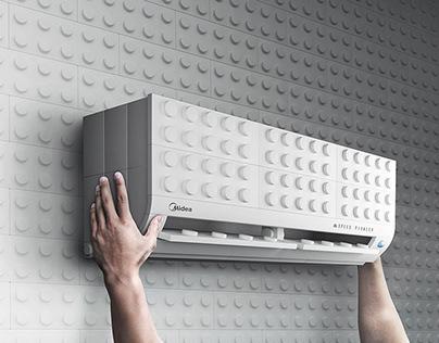 Easy Installation - Midea Air Conditioner