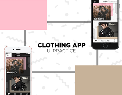 Clothing App - UI Practice