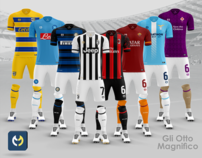 The Magnificent Eight of Serie A Mulbach Kits Concept