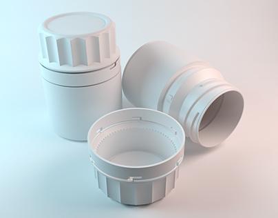 3D Supradyn Bottle