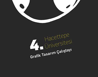 4. Hacettepe Grafik Tasarım Çalıştayı- Workshop