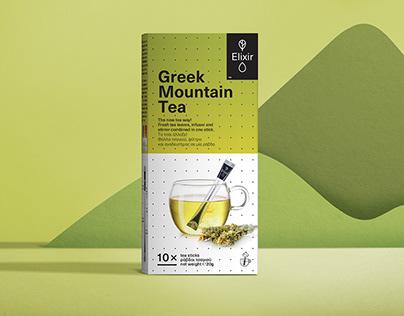 Elixir Teasticks packaging