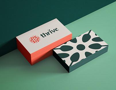Thrive Nutrition branding
