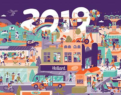 Hollard 2019 Calendar Range