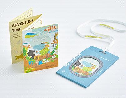 國立臺灣歷史博物館|兒童廳導覽地圖手冊
