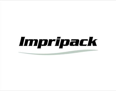 Projet Impripack - logo, papeterie