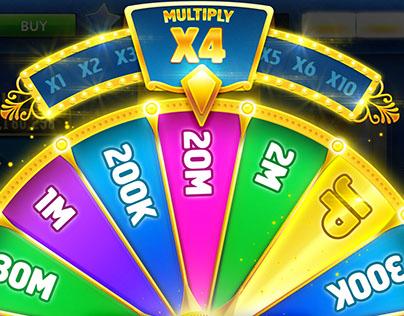 Wheel Of Luck UI