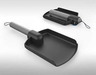 Hyundai shovel design
