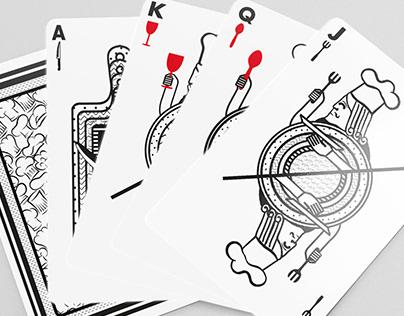 Diseño de cartas para alta cocina
