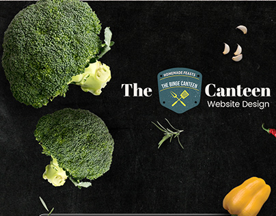The Binge Canteen website showcase