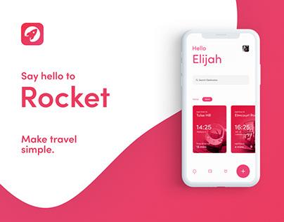 Rocket Travel App
