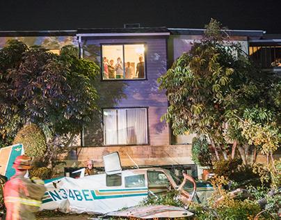Local News - Burbank Fire & Glendale Plane Crash