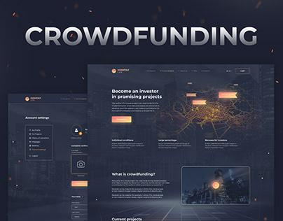 UX / UI Design of a Crowdfunding Platform