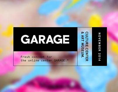 GARAGE Museum new website