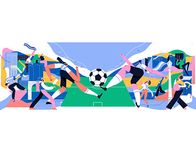 Google Doodle Fifa's Woman World Cup 2019