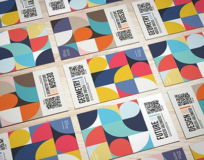 identity cards for design festival