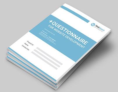 Questionnaire Web Design Proposal