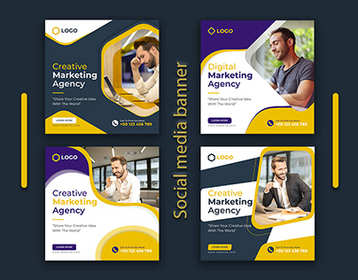 Digital marketing agency ads banner