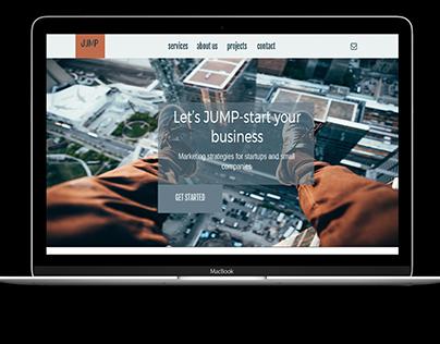 Website for JUMP marketing agency