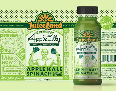 JuiceLand Retail Design