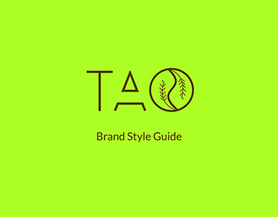 TAO Brand Style Guide