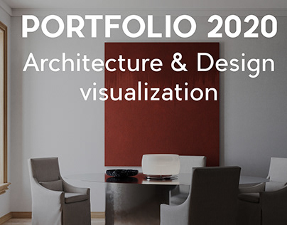 Portfolio 2020 - 3D Visualization