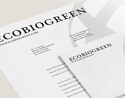 ECOBIOGREEN || Brand Identity / Graphic Design